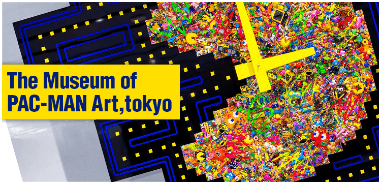 The Museum of PAC-MAN Art,tokyo